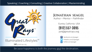 Business Card · GreatRays, 2016